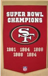 San Francisco 49ers Dynasty Banner