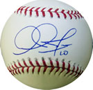 Adam Jones autograph baseball with certificate of authenticity