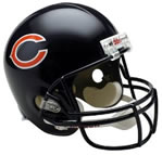Chicago Bears Authentic Full Size Helmet