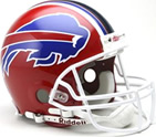 Buffalo Bills Authentic Full Size Helmet