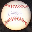 Brian McCann autograph baseball with certificate of authenticity