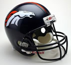 Denver Broncos Authentic Full Size Helmet