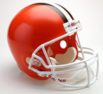 Cleveland Browns Authentic Full Size Helmet