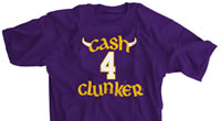 Cash 4 Clunker Minnesota Football shirt