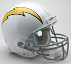 San Diego Chargers Authentic Full Size Helmet
