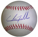 Chris Tillman autograph baseball with certificate of authenticity