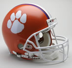 Clemson Tigers Authentic Full Size Helmet