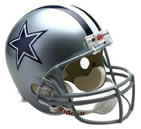 Dallas Cowboys Authentic Full Size Helmet