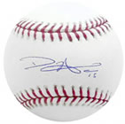 Dan Haren autograph baseball with certificate of authenticity