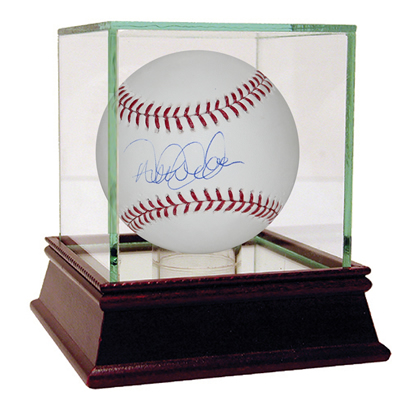 Derek Jeter autographed MLB baseball with Steiner Sports COA