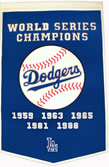 Los Angeles Dodgers Dynasty Banner
