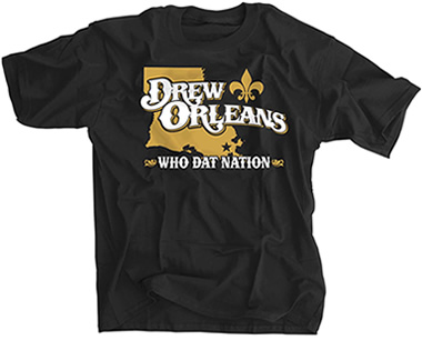 Drew Orleans Who Dat Nation Where We Finish Strong Football Shirt