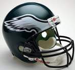 Philadelphia Eagles Authentic Full Size Helmet
