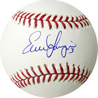 Evan Longoria autograph baseball with certificate of authenticity