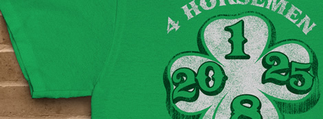 4 Horsemen 2015 Irish Green Shirt