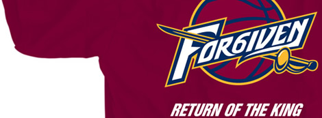 Cleveland Forgiven Return of the King Shirt