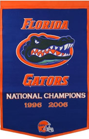 Florida Gators Dynasty Banner Wool
