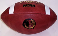 Florida State Seminoles Wilson F1005 Authentic Game Model Football
