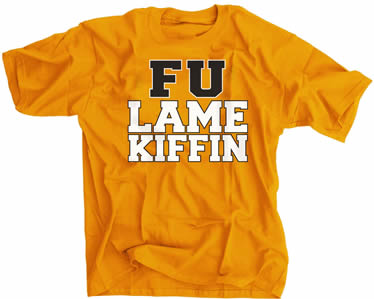 FU Lame Kiffin Tennessee Orange Shirt