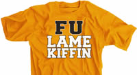 FU Lame Kiffin t-shirt