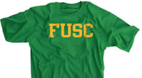 FUSC Green t-shirt