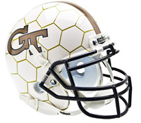 Georgia Tech HoneyComb Full Size Replica Helmet