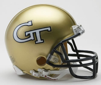 Georgia Tech Authentic Helmet