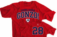 Going Going Gonzo! 28 Baseball T-shirt