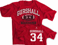 Gurshall Tailback U Football Shirt