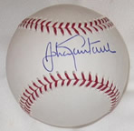 Johan Santana autographed MLB baseball with Authenticity