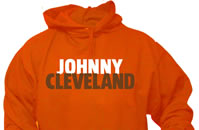Johnny Cleveland Football Hoodie