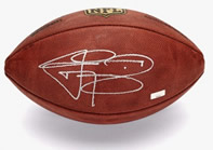 Johnny Manziel Autograph NFL Wilson Official Football