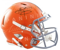 Johnny Manziel Autographed Cleveland Browns Speed Mini Helmet