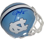 Lawrence Taylor autographed North Carolina Tar Heels mini helmet