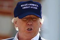 Make America Great Again Navy Hat Donald Trump 2016