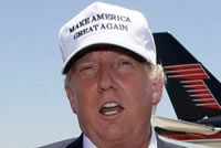Make America Great Again White Hat Donald Trump 2016