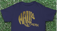 Malik The Freak Gold Helmet Shirt
