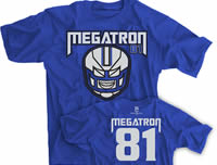 Megatron 81 Detroit Football shirt
