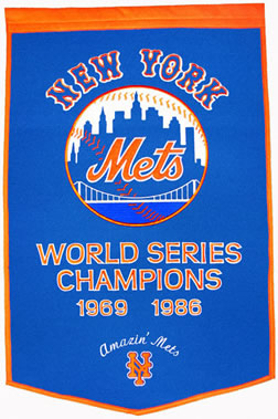 New York Mets Dynasty Banner Wool