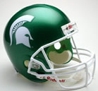 Michigan State Spartans mini helmet
