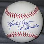 Mike Schmidt autographed baseball with COA