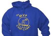 The MVP Chef Curry Hoodie Sweat shirt