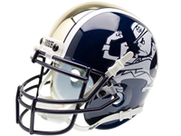Notre Dame Fighting 2012 Shamrock Series Mini Helmet