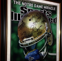 Notre Dame Senior 2012 Class Autographed Sports Illustrated Cover 16x20