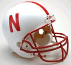 Nebraska Cornhuskers Authentic Full Size Helmet