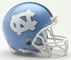 North Carolina Tarheels Mini Helmet