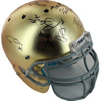 Notre Dame 2011-2012 Senior Class Full Size Authentic Signed Football Helmet