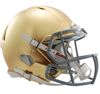 NOTRE DAME FIGHTING IRISH AUTHENTIC HYDROFX RIDDELL SPEED REVOLUTION FOOTBALL HELMET