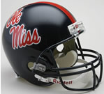 Ole Miss Rebels Authentic Full Size Helmet