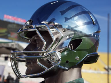 Oregon Ducks 2012 Rose Bowl Game Black Liquidmetal Speed Authentic Helmet